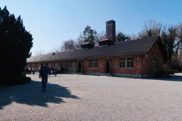 Outdoors of the Crematorium