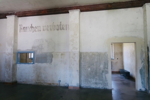 The administration room for the prisoners when they came in to the camp